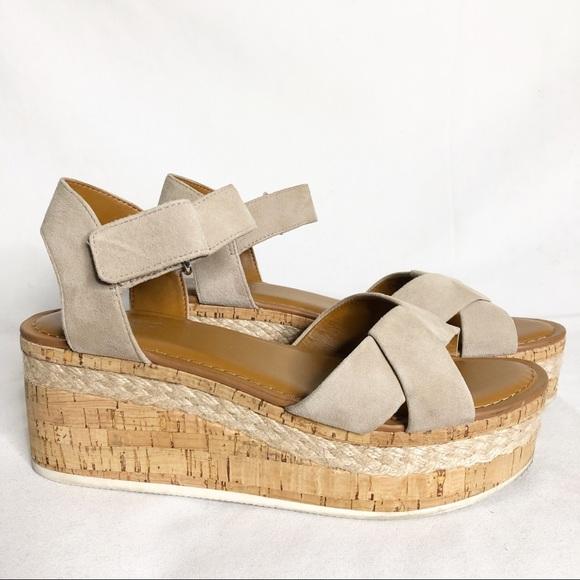 4e815cd1516 Franco Sarto Shoes - FRANCO SARTO Nelly Wedge Suede Sandals